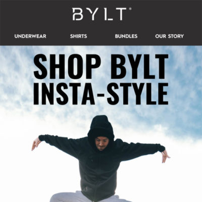 Pathways Marketing: Email Example for Bylt Basics Thumb