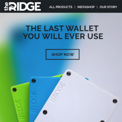 Pathways Marketing: Email Example for The Ridge Thumb